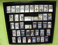 Baseball Card display Case 50 PSA Beckett DEEP /  Graded Card Case Holds 50 +