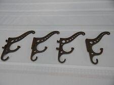 Vintage! 4Pc. Set of Cast Metal Coat Hooks