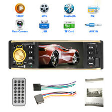 Autoradio 1 DIN de coche MP3 bluetooth manos libres car radio USB SD AUX + MANDO