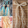 10pcs/Bag Packaging Wedding Box Dry Straw Paper Raffia Wrap Natural Rope Crafts