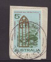 Tasmania LIENA 1968 postmark on piece type 5 rated S by Hardinge