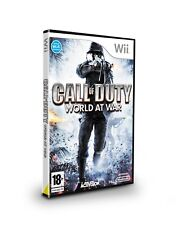 Nintendo Wii PAL version Call of Duty World at War