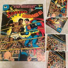 Superman Vs Muhammad Ali 1978 DC Comics RARE Whitman variant BEAUTIFUL COPY