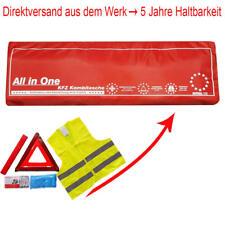 3in1 Kombitasche Verbandtasche Warndreieck Warnweste Verbandkasten KFZ Auto PKW
