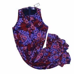 Rebecca Taylor Women's Maxi Dress 10 Multi, 100% - silk