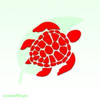 Sea Turtle Vinyl Decal Sticker Florida Sea Life Outdoor Nautical Beach 202