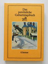 Das persönliche Geburtstagsbuch 4. Januar