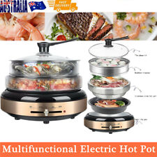 Multi Cooker Vegetable Steamer Pot Kitchen Electric Grill Fryer Rice Slow Cooker