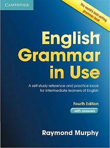 English Grammar in Use Book with Answers: A Self-Study Reference and Practice CD