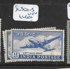 INDIA     (PP0207B)  AIRPLANE SG 301-3      VFU