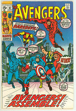 AVENGERS 82 5.5 6.0 VISION HAWKEYE BLACK PANTHER GIANT MAN NICE PAGES RC