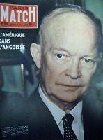 PARIS MATCH N° 0452 EISENHOWER PARA DE BIGEARD TUPOLEV PROCES MONTBRISON 1957