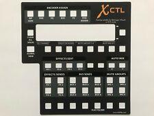 Overlay XCTL für Behringer X-Touch zur Steuerung von Behringer X AIR Mixern