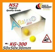 Calamita magnete neodimio (NdFeB)  Super potente N52 KG 300 made in germany