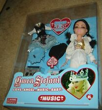 GWEN STEFANI LOVE,ANGEL MUSIC BABY DOLL, WITH SCHOOLGIRL UNIFORM, AGES 6+,