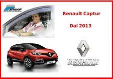 Deflettori aria per Renault Captur set Parimor originali kit antiturbo antivento
