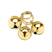 Gold Pet Bells for Dog Collar Decoration 3 Pk. Collars Supplies