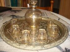ANCIEN SERVICE A DIGESTIF LIQUEUR (carafe + 11 verres)