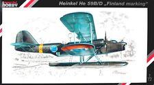 HEINKEL He 59 B/D (ILMAVOIMAT/FINNISH AF & LUFTWAFFE MKGS) 1/72 SPECIAL HOBBY