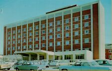 Exterior View Classic Old Cars Anderson Memorial Hospital SC Postcard C10