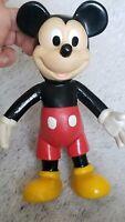 VINTAGE WALT DISNEY Prod. MICKEY MOUSE Plastic Toy