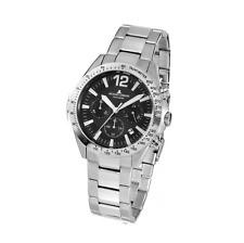 Jacques Lemans  Herren-Armbanduhr Chronograph Edelstahl 42-5D