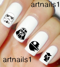 Star Wars Darth Nail Art Water Slide Decals Stickers Manicure Salon Mani Polish