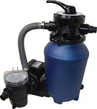 Kit de filtration à sable piscine filtre à sable avec pompe 8 m³ et préfiltre