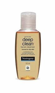 Neutrogena Deep Clean Facial Cleanser | Normal To Oily Skin | 50 ML