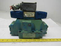 Sperry Vickers DG5S82CKWB10 4/3 Way Open Center Dbl 110V Solenoid Hyd Valve