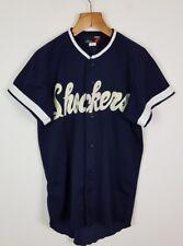 Vintage Retro Jersey deportivo de béisbol japonés Camisa Prenda Brillante audaz Athletic