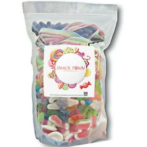 Snack Town Fresh Pick n Mix Sweets Assorted Pack Of Pick and Mix Candy Sweets
