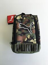 New PUMA Sport Designer Insulated Lunch Bag Box Camouflage Back To School Kids
