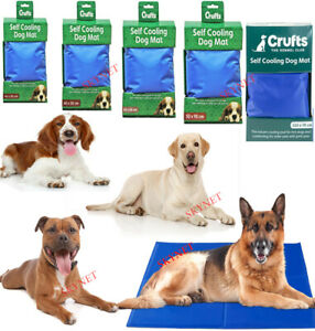Dog Cooling Mat For Dogs Pet Cooling Mat Pet Cool Gel Mat For Pets Cat - 5 Sizes