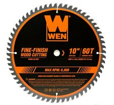 Wen Bl1060 10-Inch 60-Tooth Fine-Finish Professional Woodworking Saw Blade