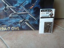 HEINKEL HE219 A-7 OWL 1/72 SCALE MODEL DRAGON +PHOTOETCHED PARTS EDUARD