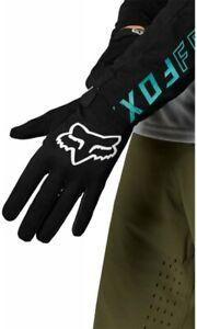 Fox Ranger Gloves Black FA21 - Full Finger Mountain Bike MTB Trail Enduro