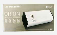 Sharper Image Orion Wireless Bluetooth Speaker with Microphone for Smart Devices