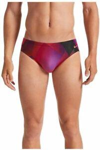Nike Spectrum Swim Brief - Villain Red (Size 36)