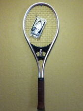 """AMF Head VECTOR S/L STRING LOCK ALUMINUM STRUNG Tennis Racket 4-5/8"""" MADE IN USA"""
