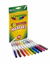 Crayola Markers Fine Tip Classic Assorted Colors 10 count