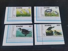 ZAIRE 1985 SG 1238-1241 BIRTH BICENT OF JOHN J AUDUBON MNH  (P)