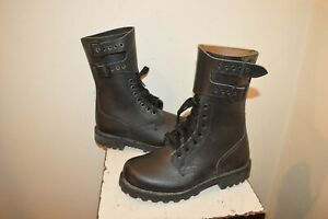 BOTTE RANGERS CUIR ARMEE FRANCAISE ARGUEYROLLES NEUF TAILLE 38 240/93 BOOTS