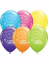 """6 x 11"""" Happy Retirement Assorted Colours Latex Balloons Ideal Party Decoration"""