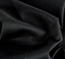 Taschenstoff Canvas Rom Schwarz Meterware Uni 0,5m Swafing Stoff Taschen Öko-Tex