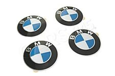 Genuine BMW E12 E23 E24 E28 Wheel Center Cap Emblems 64.5mm x4 SET 36131181080