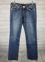 True Religion Womens Jeans Sz 28 Johnny Super T Medium Wash