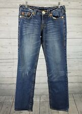 True Religion Womens Jeans Sz 28 Johnny Super T Medium Wash