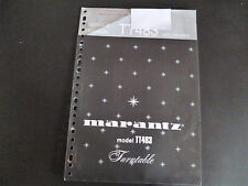 Original Service Manual Marantz TT483