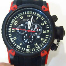 INVICTA Watch Russian Diver 10179 Chronograph Swiss 52mm 100m NOS
